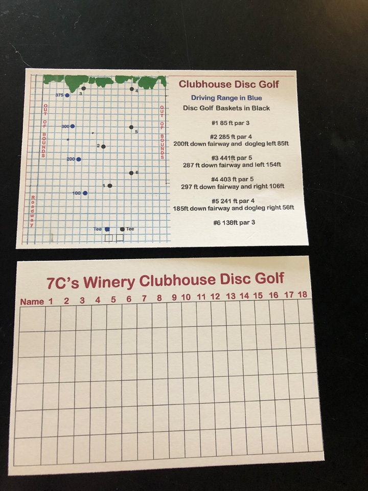 Clubhouse Disc Golf