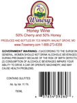 Cherry Mead Back Label